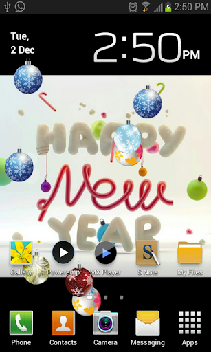 Happy New Year Live Wallpaper