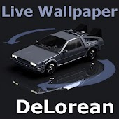 FGG Live Wallpaper DeLorean