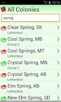 Screenshot of Members