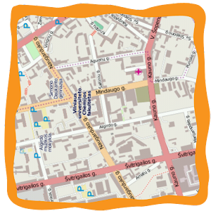 Detailed & free offline maps application with search capabilities APK Icon