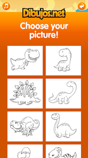 Dinosaur Coloring Pages- screenshot thumbnail