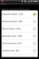 Screenshot of xcRate - Exchange Rate convert