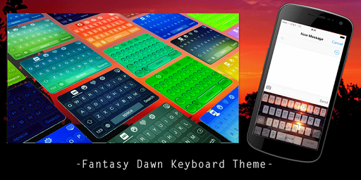 Fantasy Dawn Keyboard Theme
