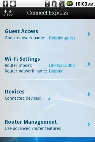 Linksys Connect - screenshot