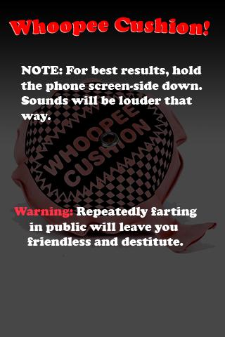 Whoopee Cushion!  ( fart )- screenshot