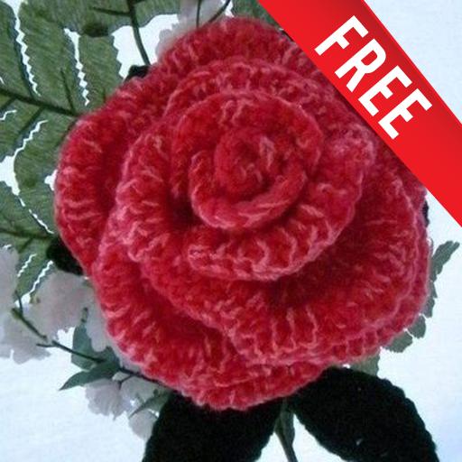 Easy Crochet Rose Flower