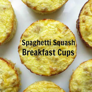 Spaghetti Squash Breakfast Cups Recipe