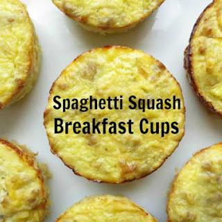 Spaghetti Squash Breakfast Cups.