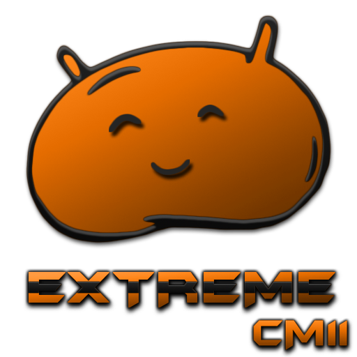 JB Extreme Theme Orange CM11 LOGO-APP點子