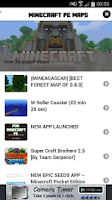 Screenshot of Maps - Minecraft PE