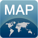Mappa di Volgograd offline icon