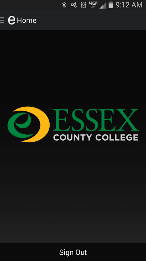 Essex County College Mobile- screenshot