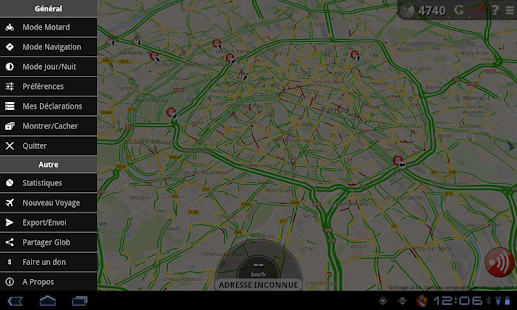 Traffic, Radars & GPS - Glob - screenshot thumbnail
