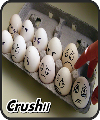 Egg Crush Mania Game For Kids