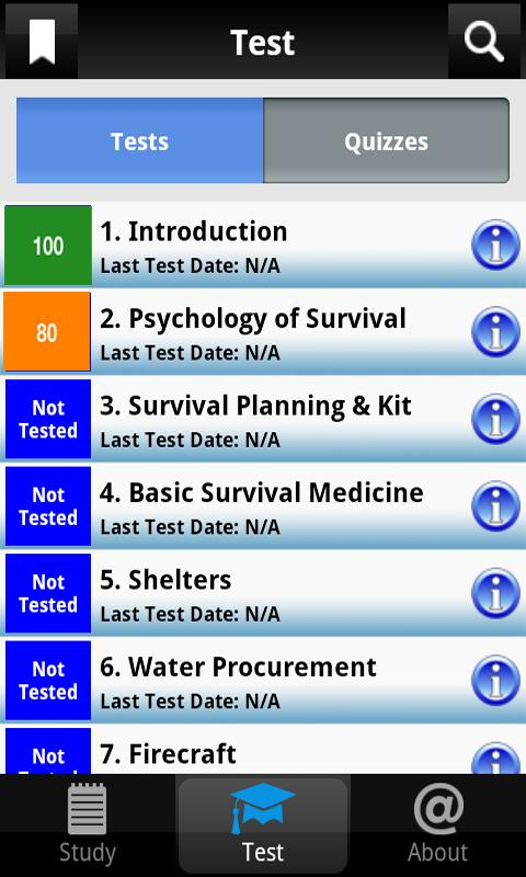 Army Survival Study Guide- screenshot