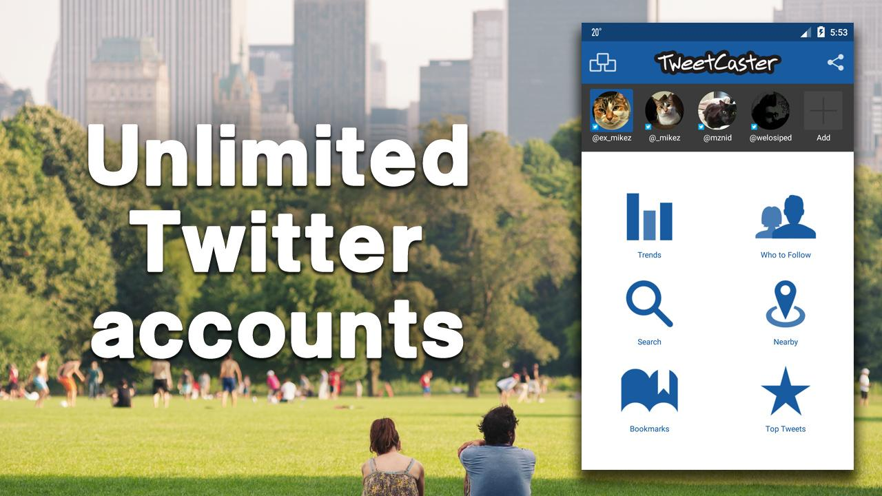 TweetCaster for Twitter screenshot #2