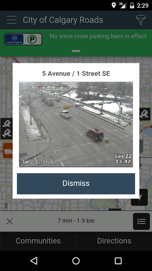 City of Calgary Roads- screenshot