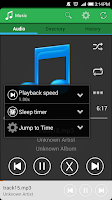 Screenshot of Music Player Lite