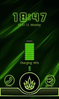 Screenshot of Go Locker Neon Green Style