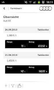 myAudi mobile assistant - screenshot thumbnail