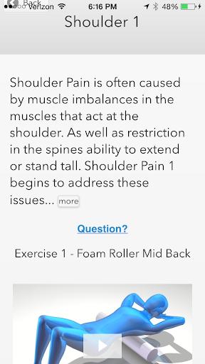 Shoulder Pain App