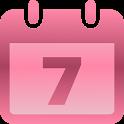月经,排卵和生育日历 icon