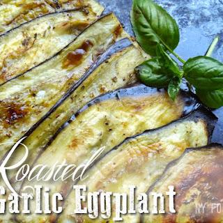 Roasted Garlic Eggplant