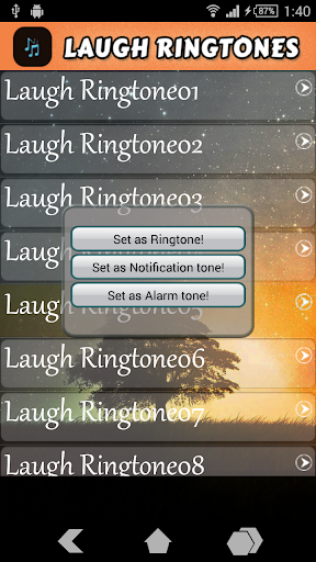 【免費娛樂App】Laugh Ringtones-APP點子