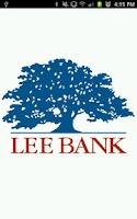 Screenshot of Lee Bank Mobile Banking