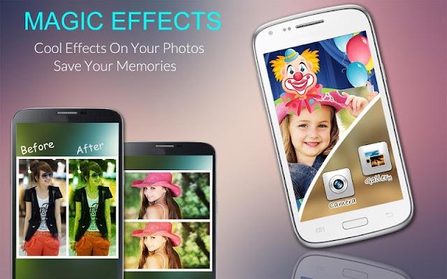 Magic photo effects - screenshot