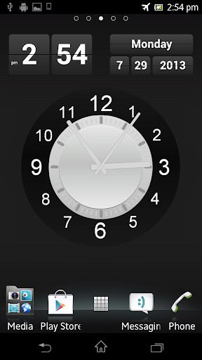 Wall Clock Live Wallpaper