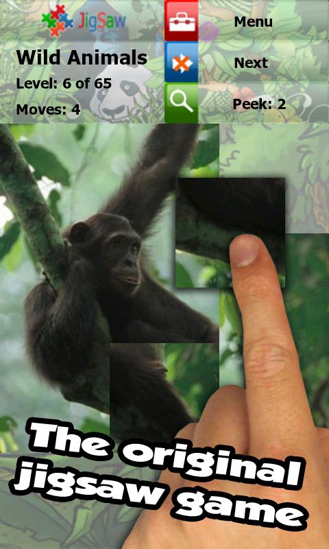 Wild animals puzzle: Jigsaw - screenshot