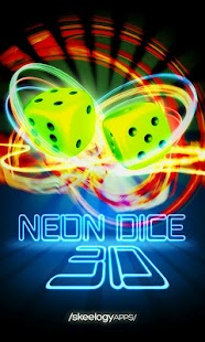 Neon Dice 3D- screenshot thumbnail