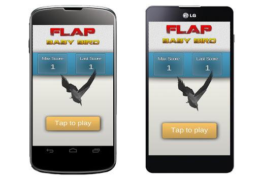 Flap Baby Bird