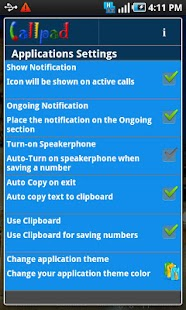 Callpad - screenshot thumbnail