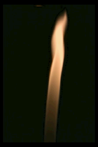 Flame lighter effect - screenshot