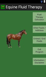 Equine Fluid Therapy screenshot for Android