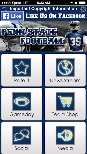 Penn State Football STREAM+