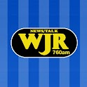 WJR-AM logo
