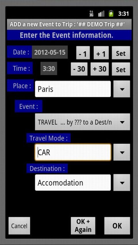 Mi Trip LITE- screenshot