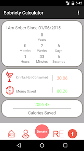 Sobriety Tracker/Counter- screenshot thumbnail