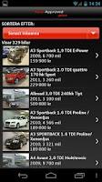 Screenshot of Audi Sverige