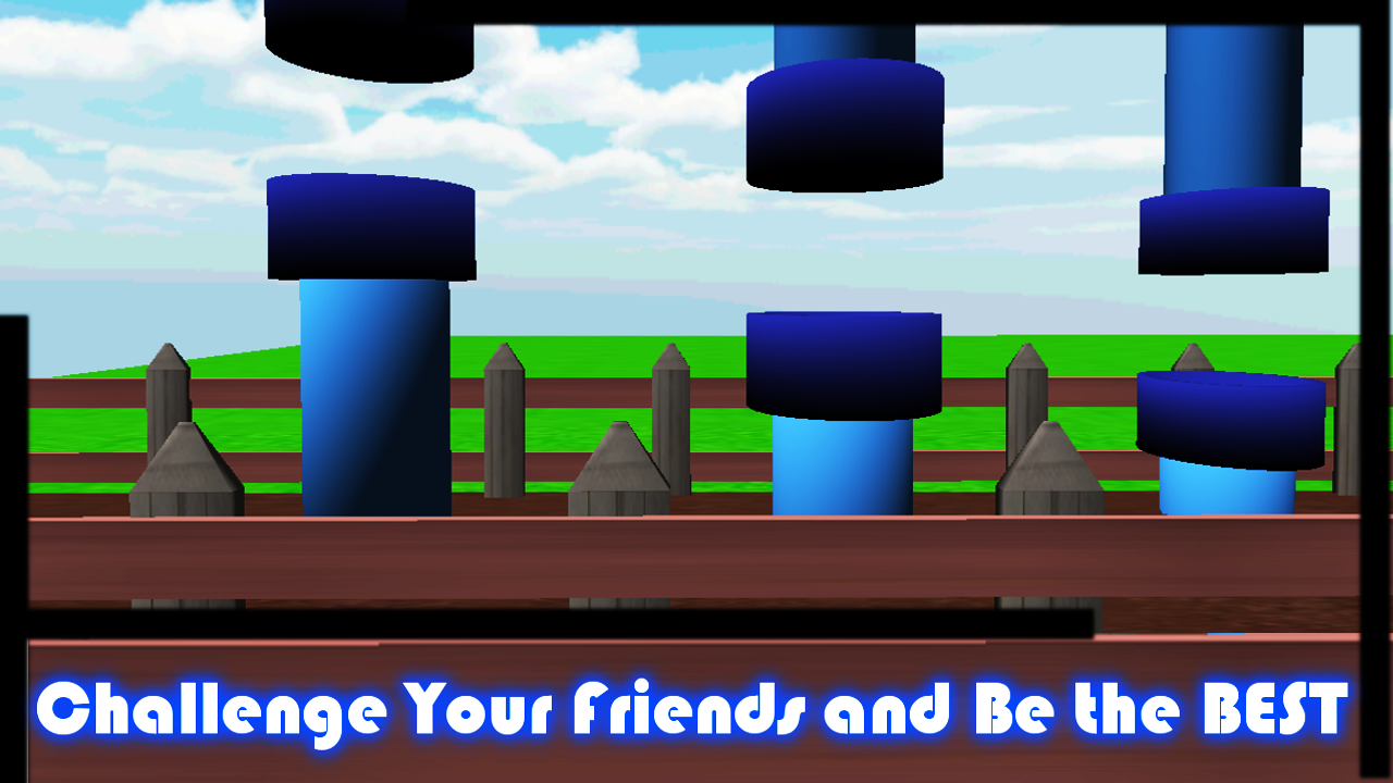 Flappy Tap 3D- screenshot