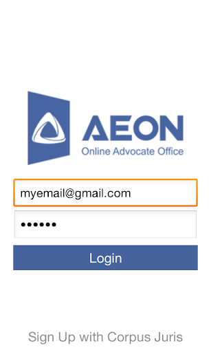 Aeon- Online Advocate Office