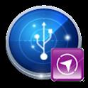 蓝点导航USB版 icon
