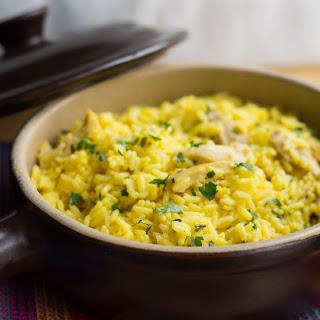 Chicken & Saffron Rice