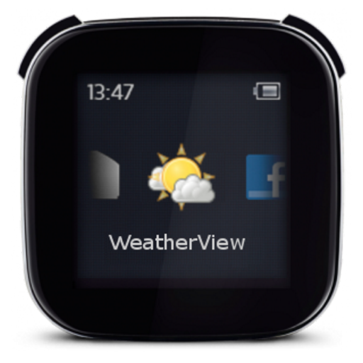 WeatherView for LiveView LOGO-APP點子