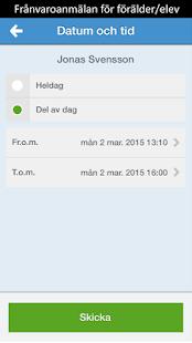 Skola24 MobilApp– miniatyr av skärmdump
