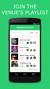Jukup - collaborative jukebox- screenshot thumbnail