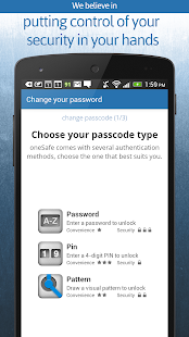oneSafe | password manager- screenshot thumbnail